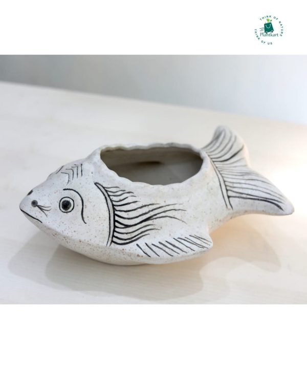 Ceramic Fish Pot